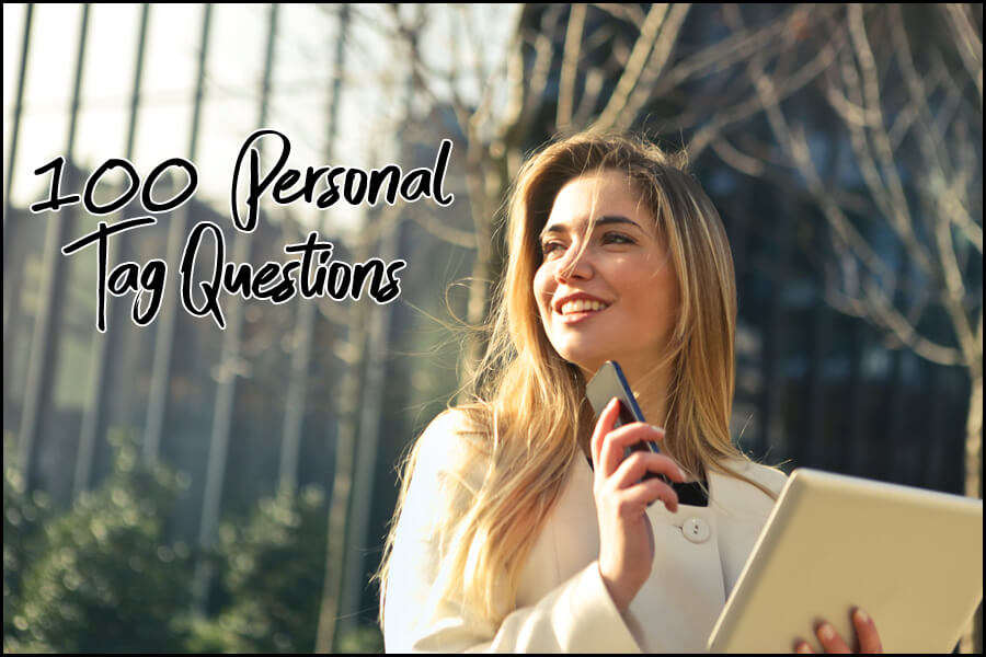100 Personal Question Tag